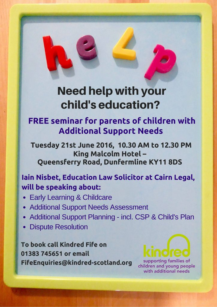 Need help with your child's education-